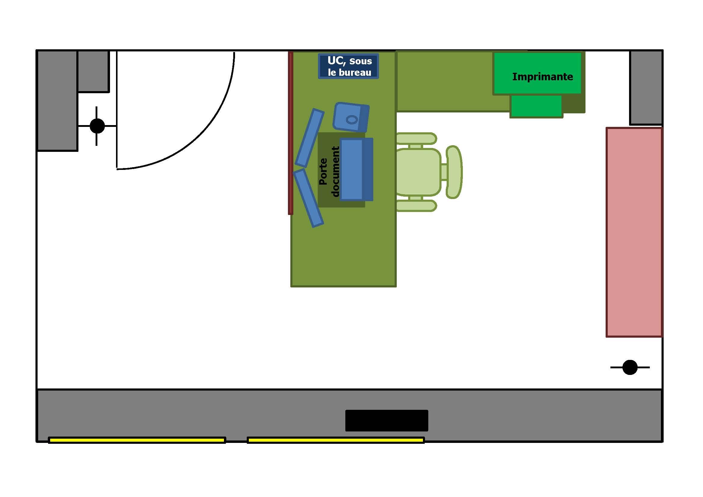 8 Pack Office Amenagement poste de travail Positionnement materiel